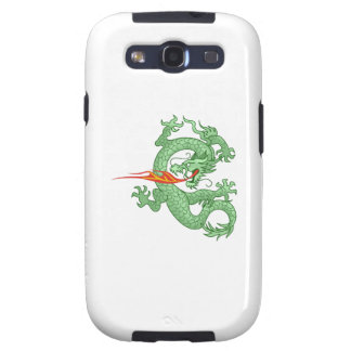 FIRE BREATHING DRAGON GALAXY S3 COVER