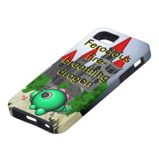Fire-breathing dragon iPhone 5 covers