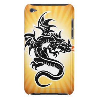 Fire breathing dragon Case-Mate iPod touch case