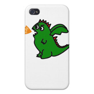 Fire breathing dragon case case for iPhone 4