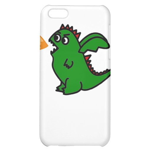 Fire breathing dragon case cover for iPhone 5C