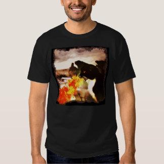 Fire Breathing Dragon Cat shirt