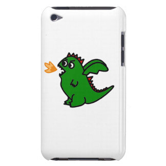 Fire breathing dragon Ipod case Case-Mate iPod Touch Case
