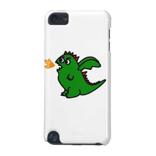 Fire breathing dragon Ipod case iPod Touch 5G Covers