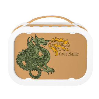 Fire Breathing Dragon Lunchboxes