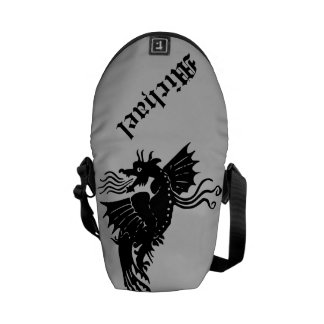 Fire Breathing Dragon Courier Bag