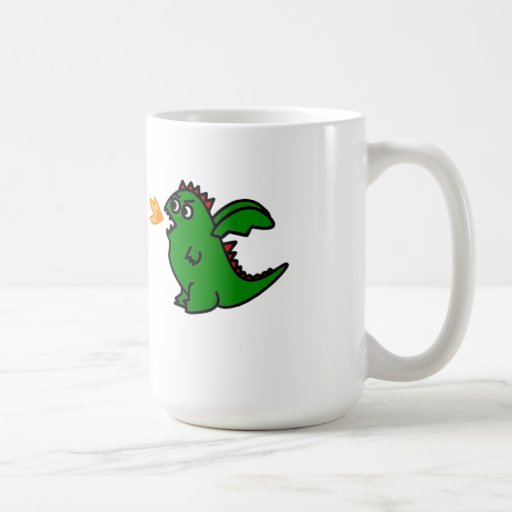Fire breathing dragon Mug