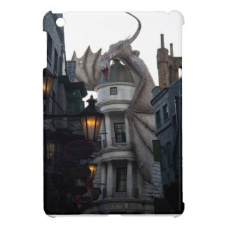 Fire breathing Dragon protecting wizard's bank iPad Mini Cases