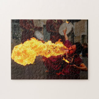 Fire Breathing Jigsaw Puzzle