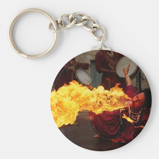Fire Breathing Keychains