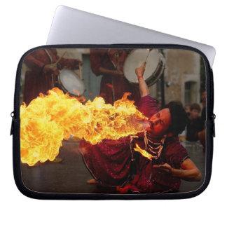 Fire Breathing Laptop Sleeve
