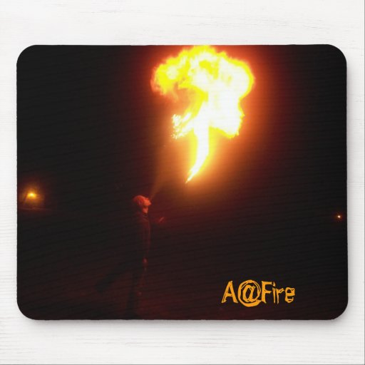 Fire Breathing Mousemat