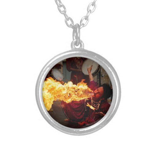 Fire Breathing Pendants