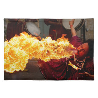 Fire Breathing Placemat