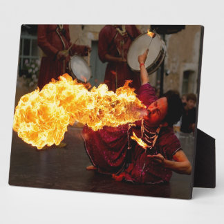 Fire Breathing Photo Plaques