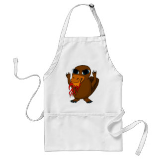 Fire Breathing Platypus Aprons