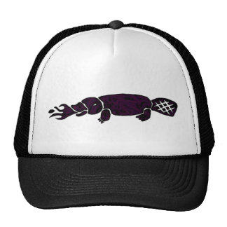 Fire Breathing Platypus Graphic Cap