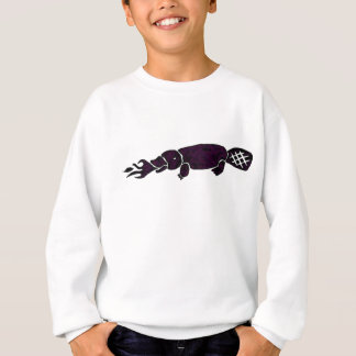 Fire Breathing Platypus Graphic Sweatshirt