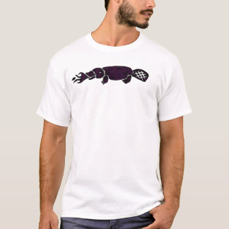Fire Breathing Platypus Graphic T-Shirt