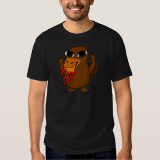 Fire Breathing Platypus T Shirts