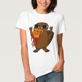 Fire Breathing Platypus Tee Shirts