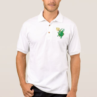 Fire Breathing Polo Shirt