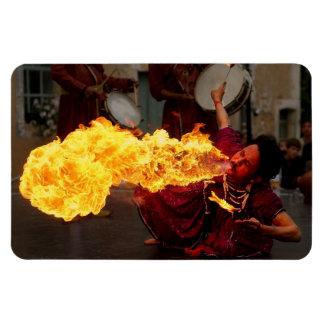 Fire Breathing Flexible Magnet