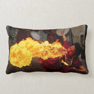 Fire Breathing Throw Pillows