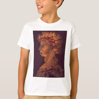 Fire by Giuseppe Arcimboldo T-Shirt