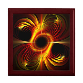 Fire Cage Fractal Gift Box