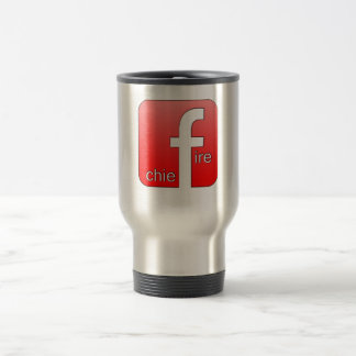 Fire Chief Facebook Logo Unique Gift Travel Mug