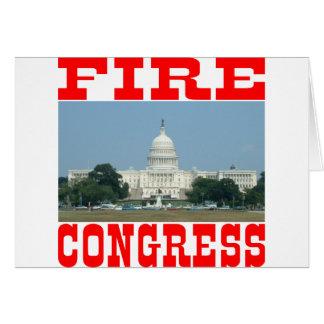 Fire Congress Card