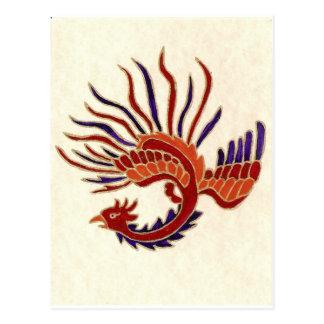 FIRE DRAGON POST CARD