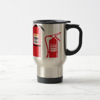 Fire extinguisher Vector Travel Mug