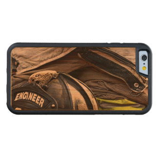 Fire Fighter Carved Cherry iPhone 6 Bumper Case