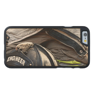 Fire Fighter Carved Maple iPhone 6 Case
