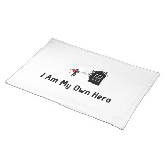 Fire Fighting Hero Placemat