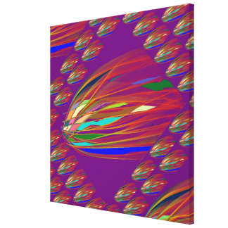 FIRE FLARE Abstract Art  : Outstanding ColorShades Canvas Print