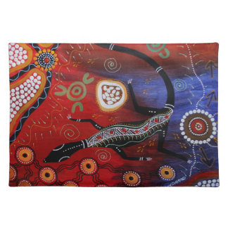 Fire Goanna Dreaming Placemats