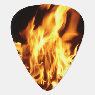 Fire Guitar Pick