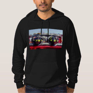 Fire Helmet and Boots Hoodie