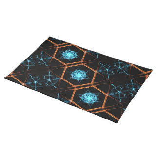 "Fire & Ice Flake 20"" x 14"" Cotton Placemat"