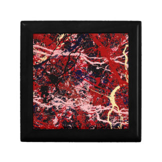 FIRE IN THE SKY (an abstract art design) ~ Gift Box
