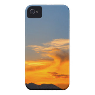 Fire in the sky iPhone 4 covers