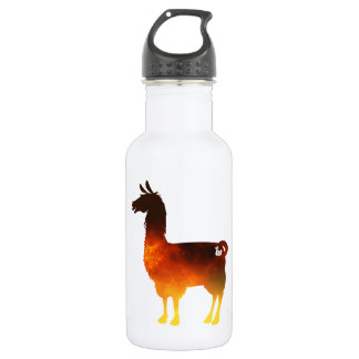 Fire Llama Water Bottle