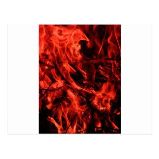 fire post card