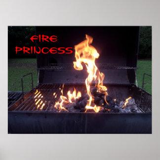 Fire Princess Poster