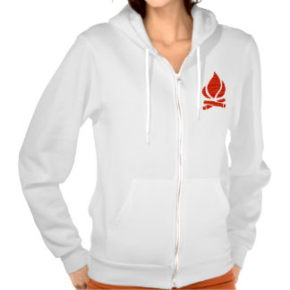 FIRE symbol of POSITIVE Spirit n PURE Energy - Enj Hoody