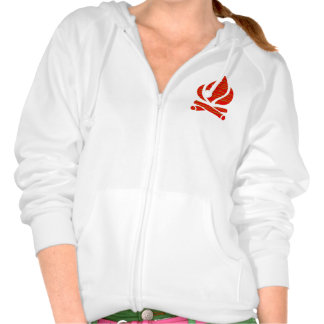 FIRE symbol of POSITIVE Spirit n PURE Energy - Enj Sweatshirts