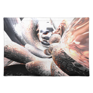 Fire Water Abstract Placemats